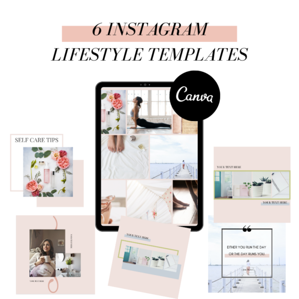CANVA LIFESTYLE TEMPLATES