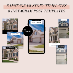 CANVA INSTAGRAM TEMPLATES REAL ESTATE