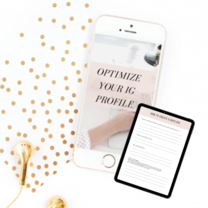 OPTIMIZE YOUR INSTAGRAM PROFILE